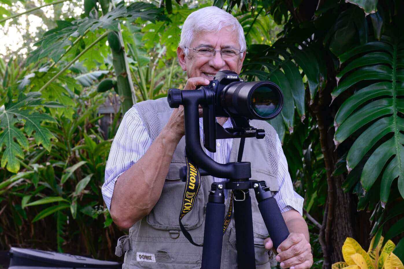 Luis A Materón, Ph.D. <br>Microbiologist and Photographer